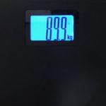 やっとこさ90kgを切りました♪